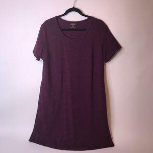 NWOT 32 Degree Cooling Maroon Dress, XL